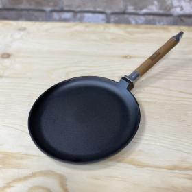 Сковорода Д240 блинная со съемной ручкой с ров. бортом Биол