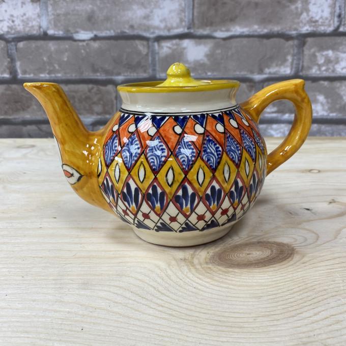 чайник желтый Мехроб 1л