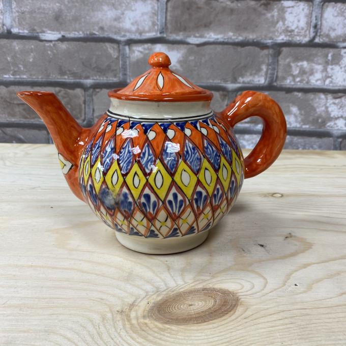 Чайник оранжевый Мехроб 1л