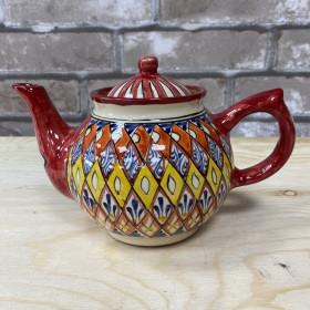 чайник красный Мехроб 1л