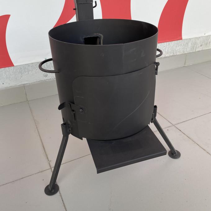 печь под казан 360 с дверцей без трубы