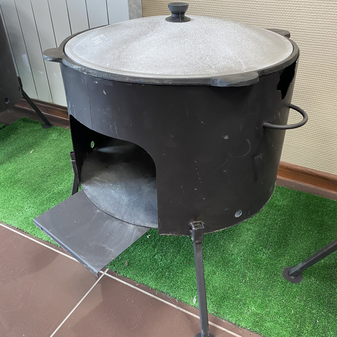 Казан 22л + печь без трубы