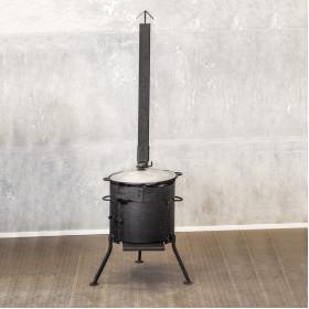 Казан 6л + печь с трубой