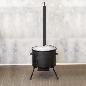 Казан 16л + печь с трубой